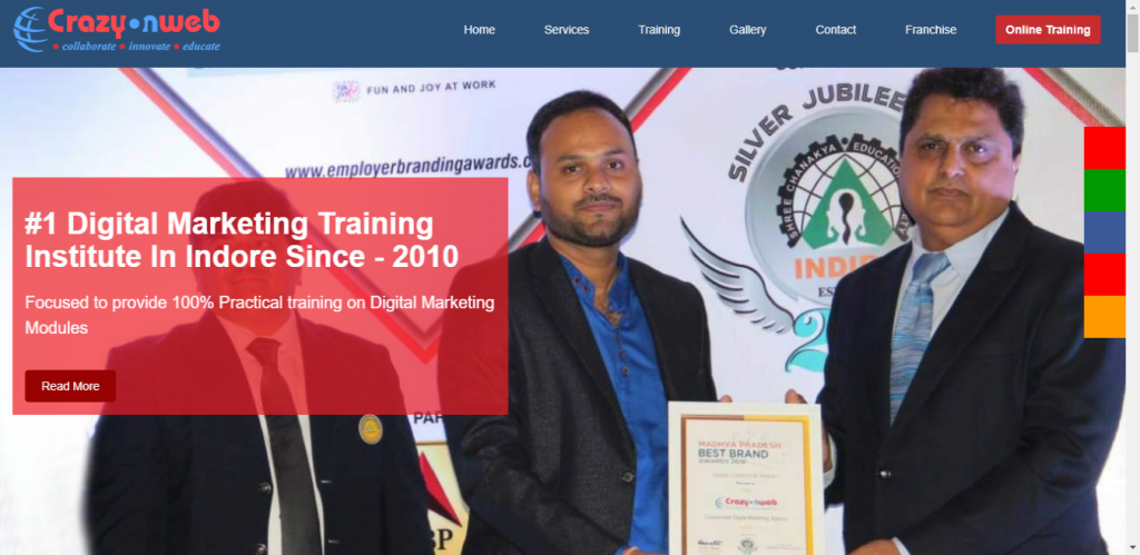 Crazy on Web - Digital Marketing Course in Indore, M.P.